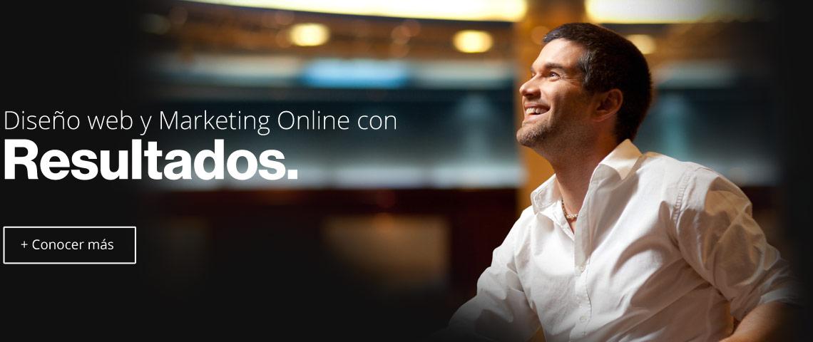 Diseño web y marketing online con resultados